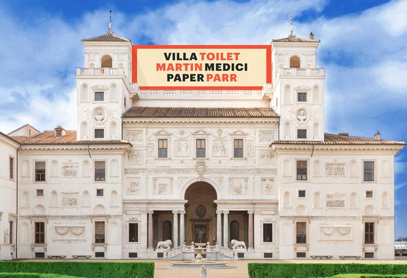 Toiletmartin-paperparr-villa-medici